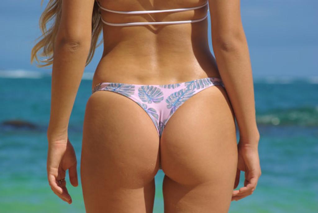 7cd2e7b1d8764 Banzai Reversible Brazilian Thong Bathing Suit Bottoms Customize ...