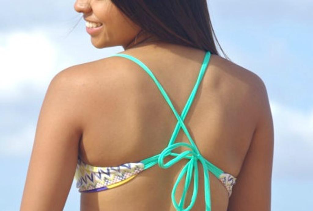 a96d21d297c3a Kahekili Cross Back Halter Bikini Top Facebook Customize Size ...