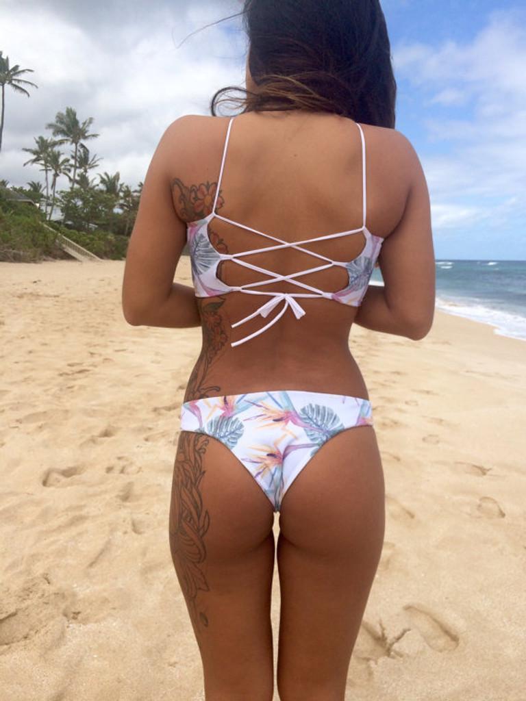 3cd1b9c3e09 Lani Kai Style REVERSIBLE Cheeky Brazilian Bikini Bottoms Custom ...