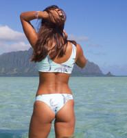 A Lani Kai  Reversible Brazilian BottomsCustomize Size & Choose from 50+ Fabrics