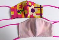 Side 1 Daisy Retro Side 2 Soft Pink