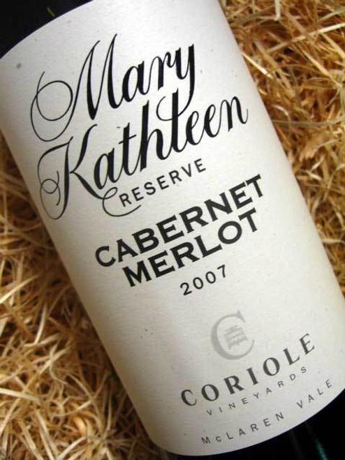 Coriole Mary Kathleen Reserve Cabernet Merlot 2007