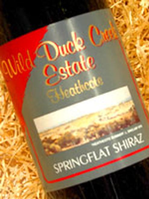 Wild Duck Creek Springflat Shiraz 2008
