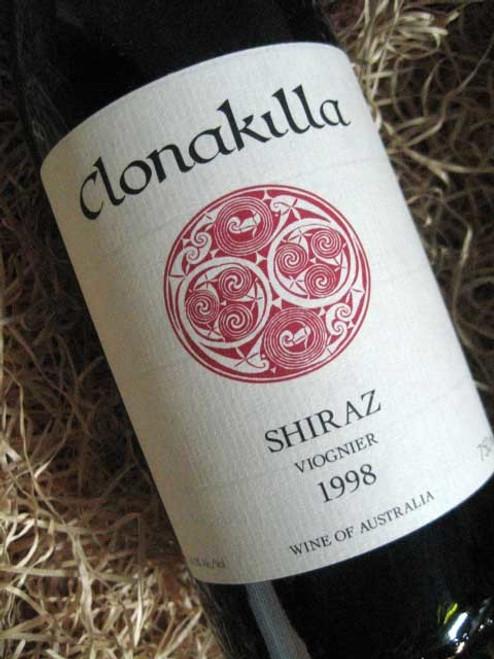Clonakilla Shiraz Viognier 1998