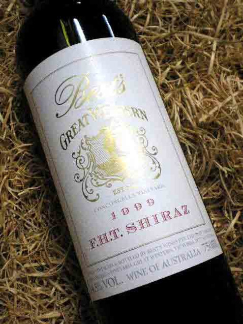 Best's F.H.T. Shiraz 1999