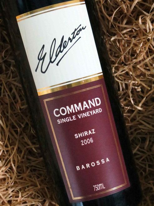 [SOLD-OUT] Elderton Command Shiraz 2006