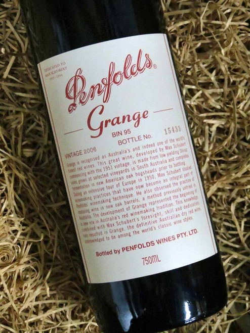 [SOLD-OUT] Penfolds Grange 2006