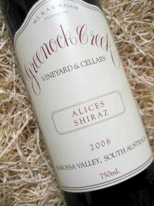 Greenock Creek Alices Shiraz 2008