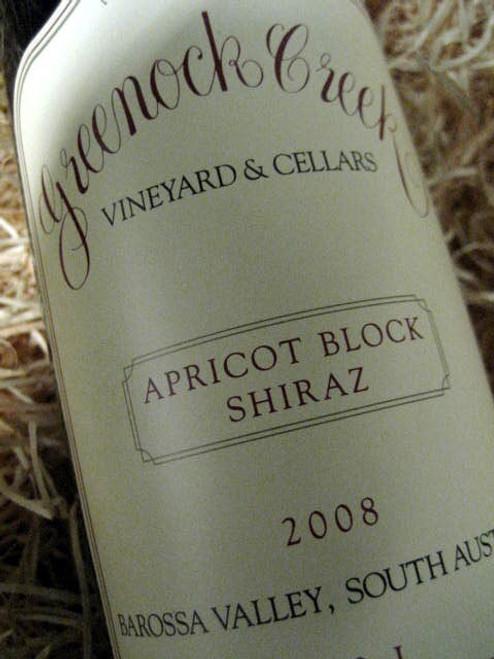 Greenock Creek Apricot Block Shiraz 2008
