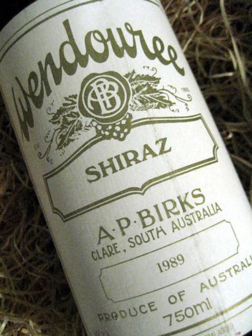 Wendouree Shiraz 1989