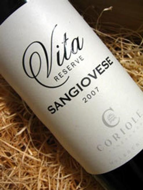 Coriole Vita Reserve Sangiovese 2007