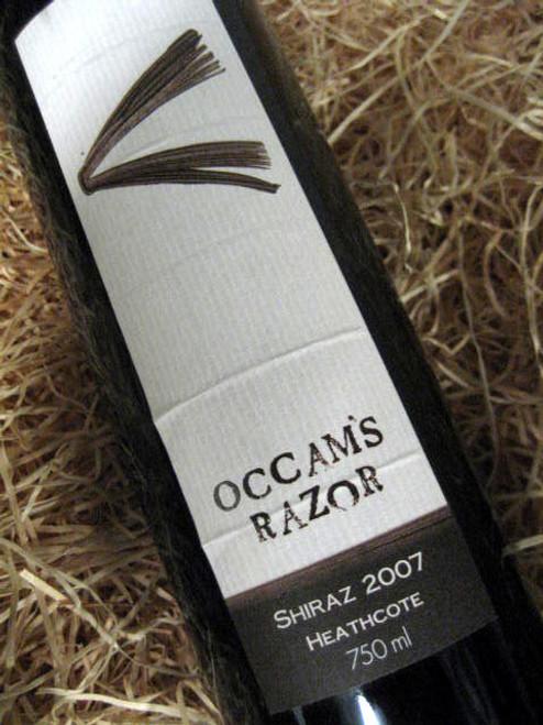Occam's Razor Shiraz 2007