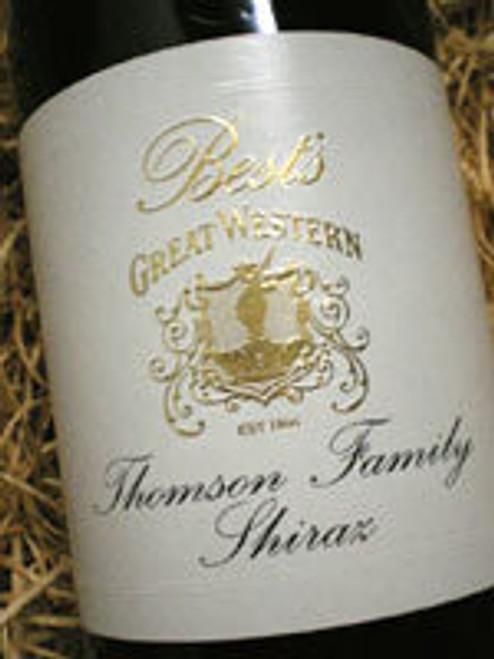 Best's Thomson Family Shiraz 2001