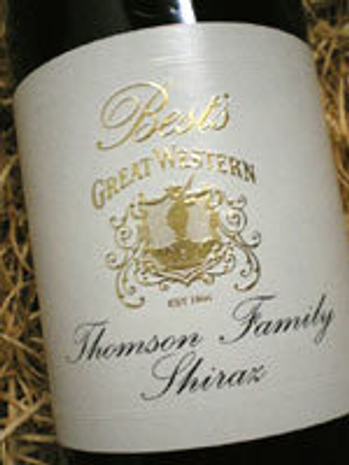 Best's Thomson Family Shiraz 2001