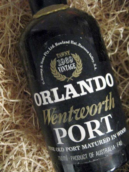 Orlando Tawny Port 1969 Wentworth (Minor Damaged Label)