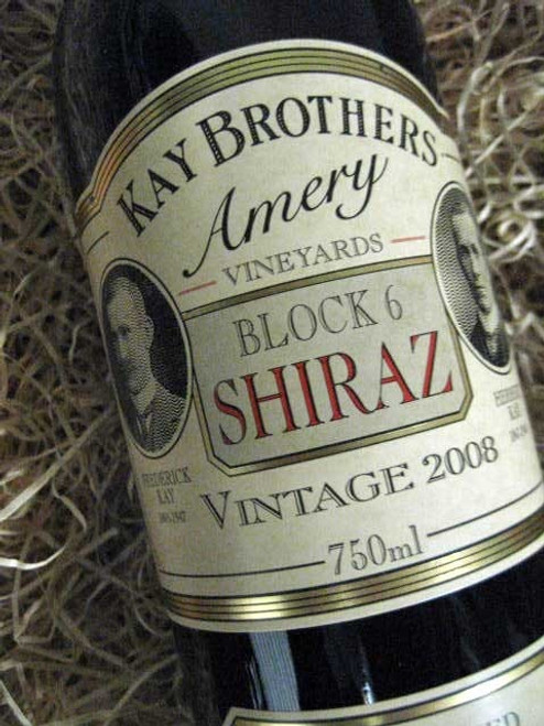 [SOLD-OUT] Kay Brothers Block 6 Shiraz 2008