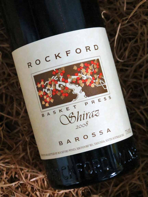 [SOLD-OUT] Rockford Basket Press Shiraz 2008