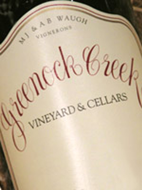 Greenock Creek Seven Acre Shiraz 2007