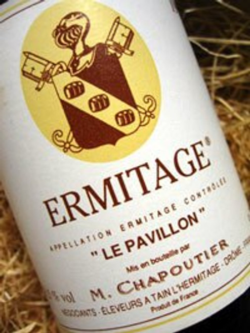 Chapoutier Ermitage le Pavillon 91 (Damaged Label)
