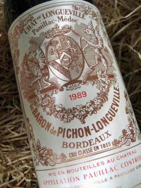 Chateau Pichon Longueville Baron 1989