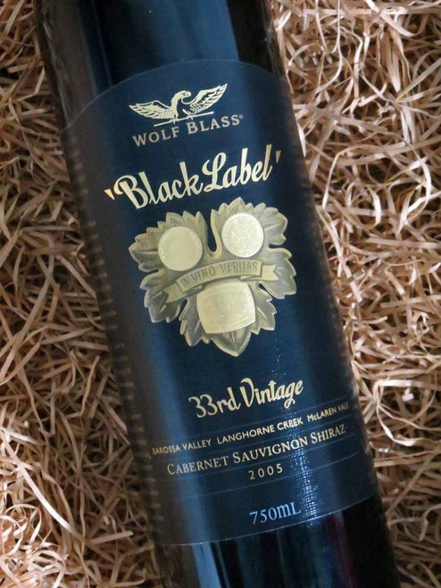 [SOLD-OUT] Wolf Blass Black Label 2005