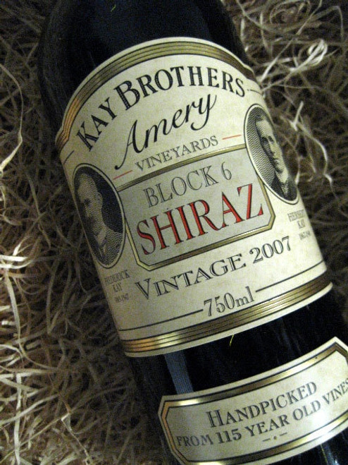 [SOLD-OUT] Kay Brothers Block 6 Shiraz 2007