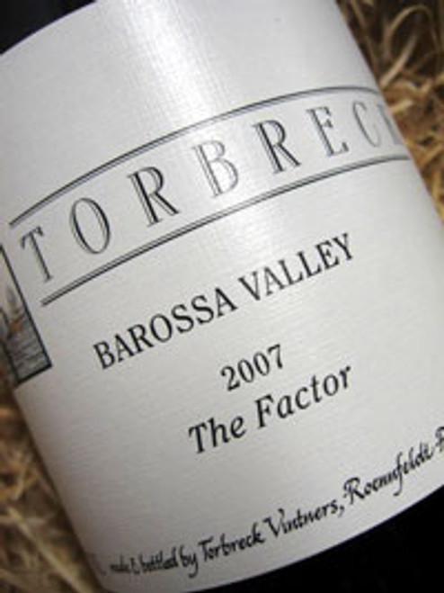 Torbreck The Factor Shiraz 2007