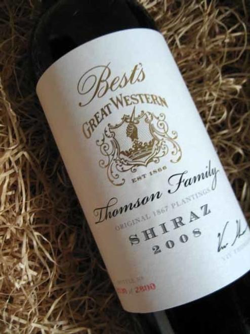 Best's Thomson Family Shiraz 2008