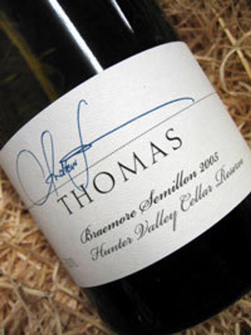 Thomas Braemore Semillon Cellar Reserve 05