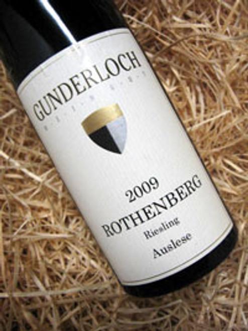 Gunderloch Nackenheimer Rothenberg Auslese 2009 375mL