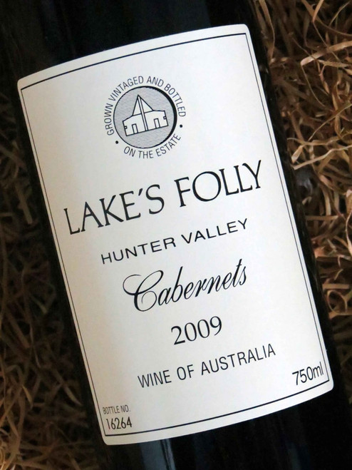 [SOLD-OUT] Lake's Folly White Label Cabernets 2009