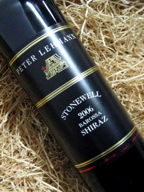 [SOLD-OUT] Peter Lehmann Stonewell Shiraz 2006