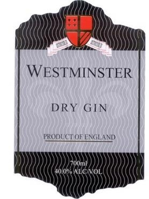 Westminster Dry Gin 700mL