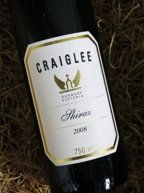 [SOLD-OUT] Craiglee Shiraz 2008