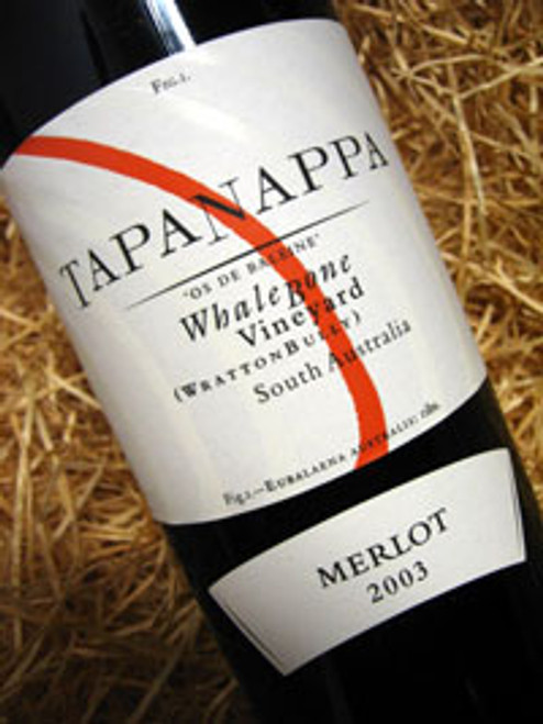 Tapanappa Whalebone Merlot 2003