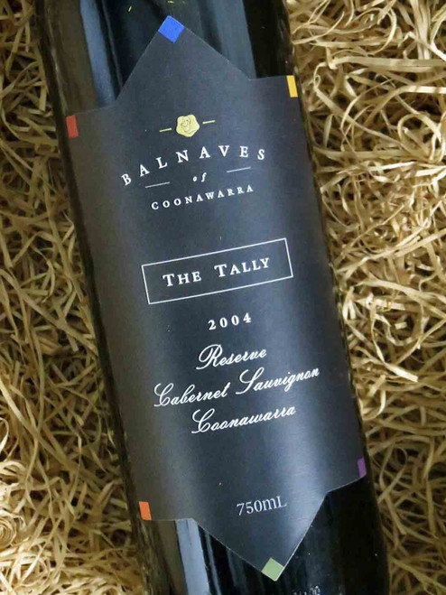 [SOLD-OUT] Balnaves The Tally Reserve Cabernet 2004
