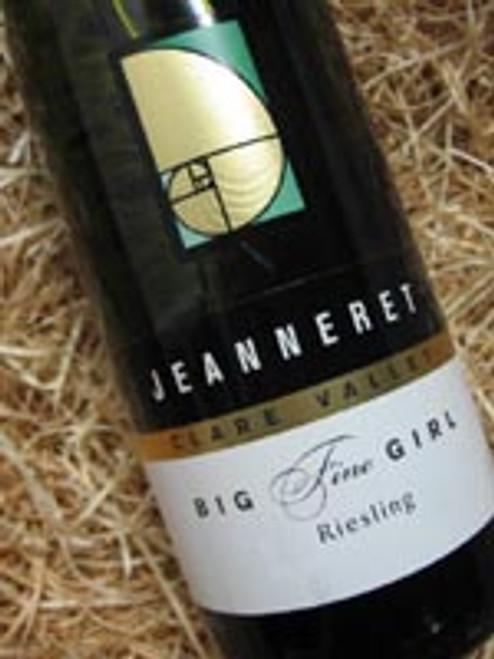 Jeanneret Big Fine Girl Riesling 2010