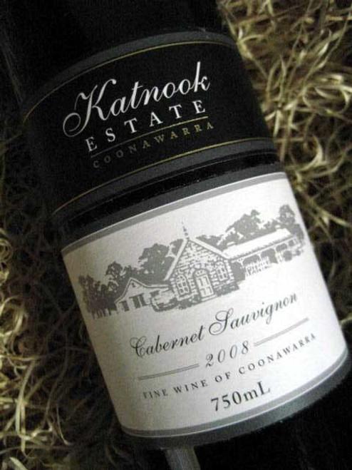 Katnook Estate Cabernet Sauvignon 2008