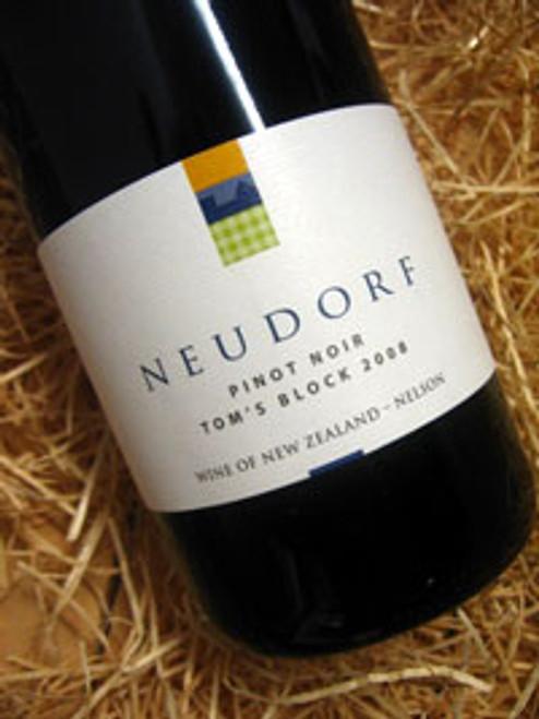 Neudorf Tom's Block Pinot Noir 2008