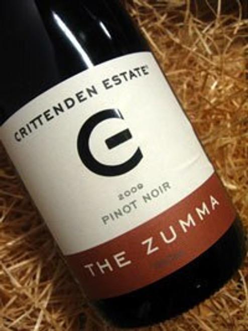 Crittenden Zumma Pinot Noir 2009