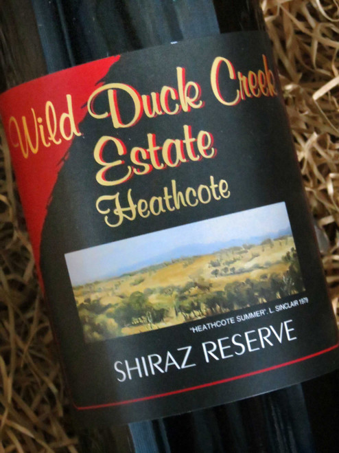 [SOLD-OUT] Wild Duck Creek Reserve Shiraz 2009