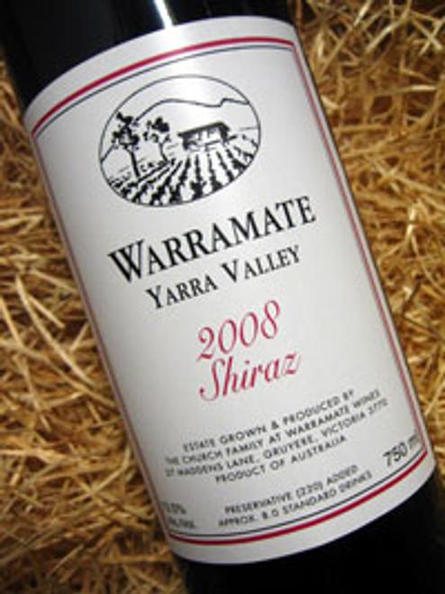 Warramate White Label Shiraz 2008
