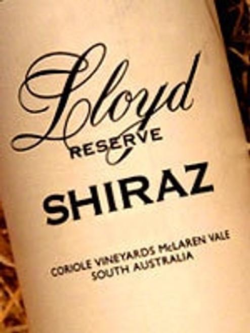 Coriole Lloyd Reserve Shiraz 2008