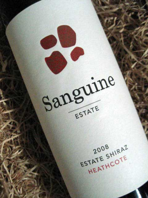 Sanguine Estate Shiraz 2008