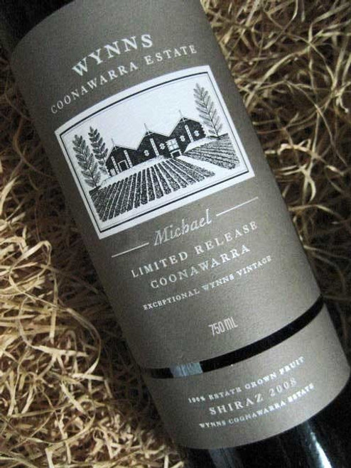 [SOLD-OUT] Wynns Michael Shiraz 2008