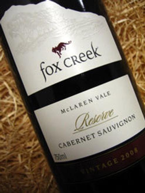 Fox Creek Reserve Cabernet 2008