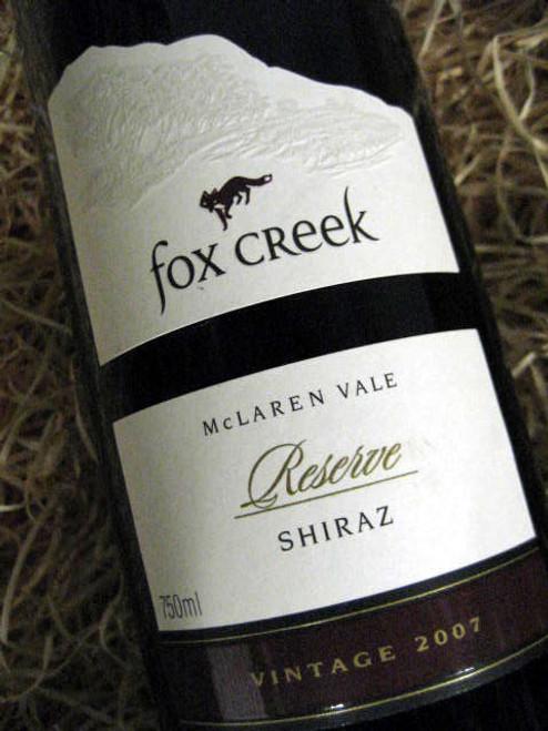 Fox Creek Reserve Shiraz 2007