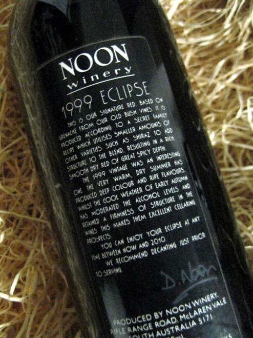Noon Winery Eclipse Grenache Shiraz 1999
