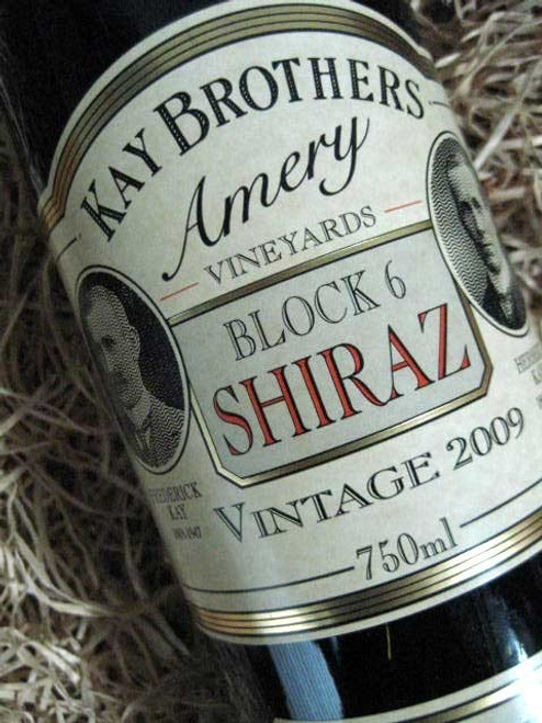 [SOLD-OUT] Kay Brothers Block 6 Shiraz 2009