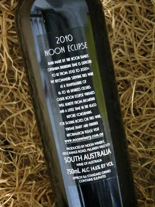 [SOLD-OUT] Noon Winery Eclipse Grenache Shiraz 2010